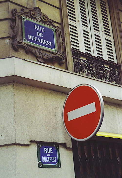 Paris - Rue de Bucarest